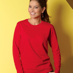 Ladies' Ultra CottonTM Long-Sleeve T-Shirt